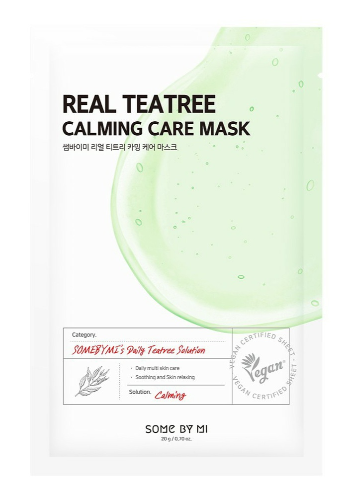 Some By Mi Real Tea Tree Calming Care Mask