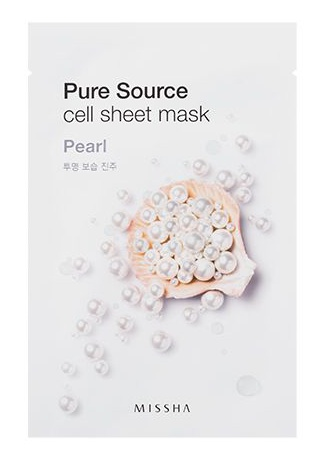 Missha Pure Source Cell Sheet Mask (Pearl)