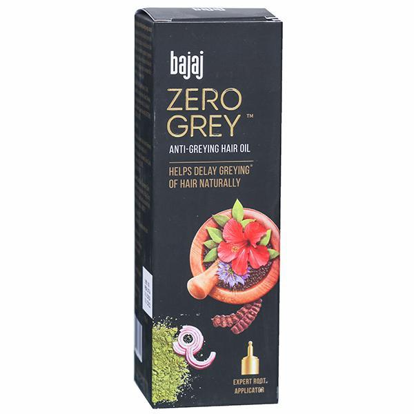 Bajaj Zero Grey Oil Anti Greying Oil
