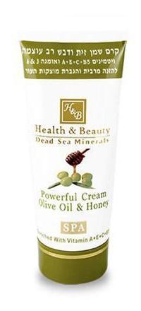 Health & Beauty Dead Sea Minerals Olive Oil & Honey Body Cream