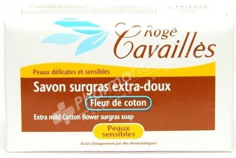 ROGE CAVAILLES Extra Mild Cotton Flower Surgras Soap