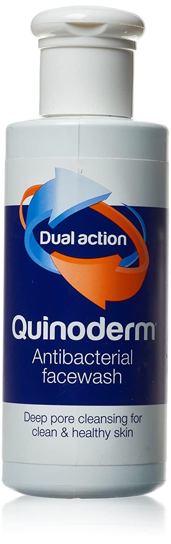 Quinoderm Dual Action Antibacterial Facewash