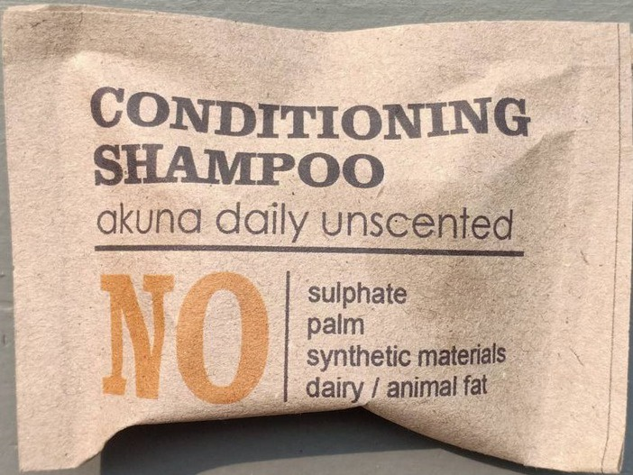 Akuna Daily Unscented  Shampoo Bar