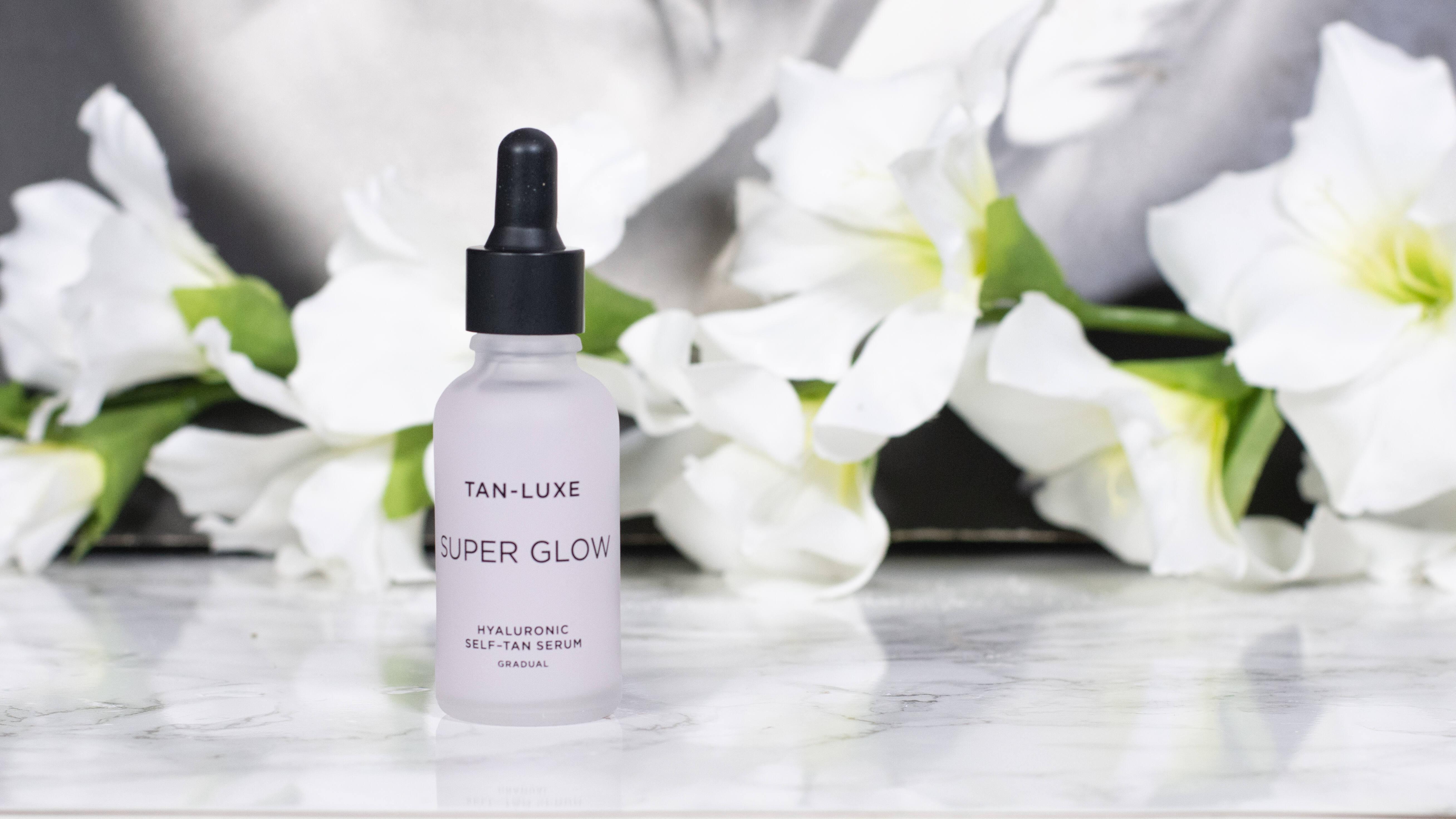 Tan-Luxe Super Glow Hyaluronic Self Tan Serum