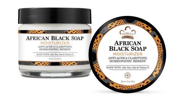Nubian Heritage African Black Soap Facial Moisturizer