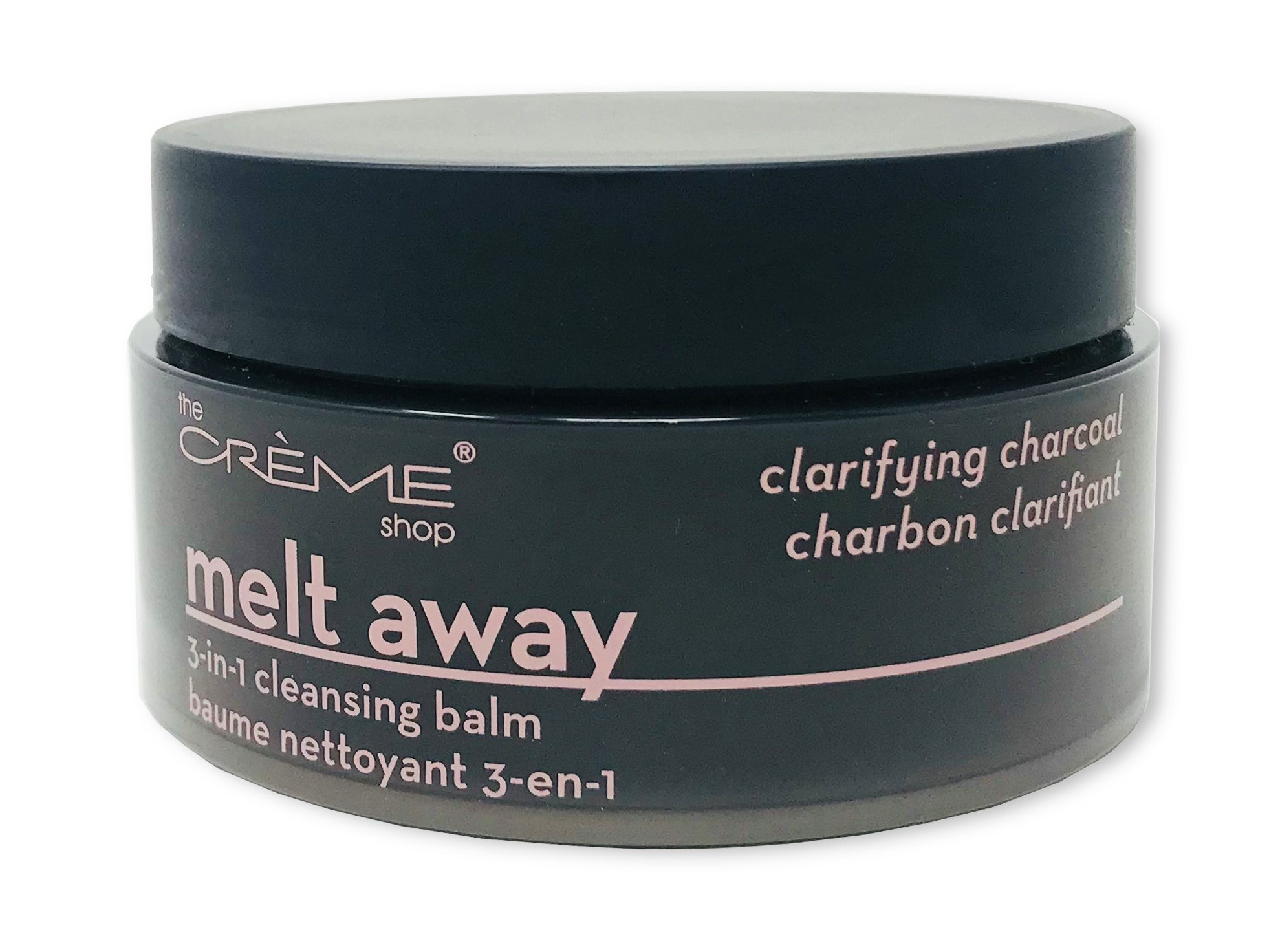 The Creme Shop Melt Away 3-In-1 Cleansing Balm Clarifying Charcoal