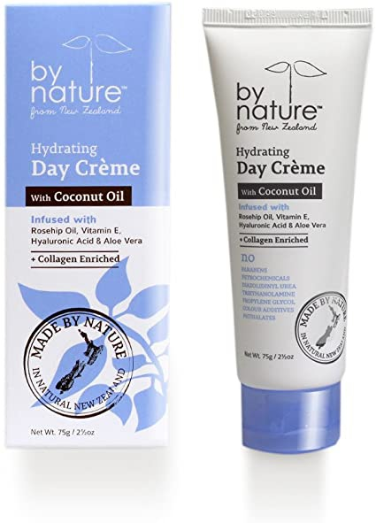 By Nature Coconut Hydrating Day Crème With Coconut Oil