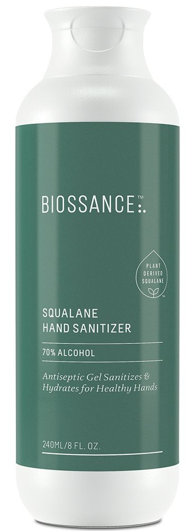 BIOSSANCE Squalane + 70% Alcohol Hand Sanitizer