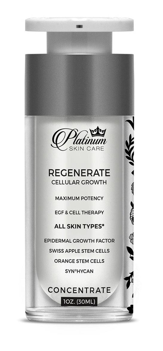 Platinum Skincare Regenerate Maximum Potency Egf & Stem Cell Therapy
