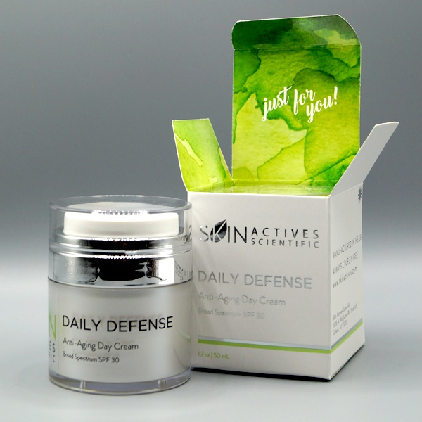 Skin Actives Daily Defense Anti-Aging Day Cream With Spf 30