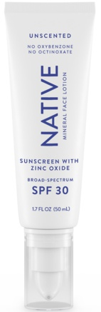 Native Mineral Face Lotion SPF 30