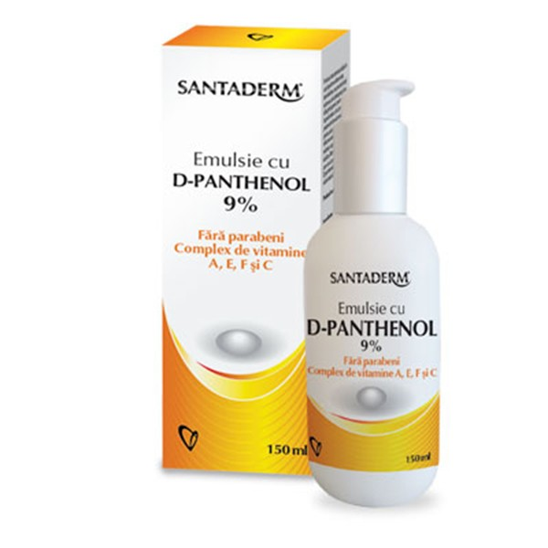 Santaderm Emulsie Cu D-Panthenol 9%