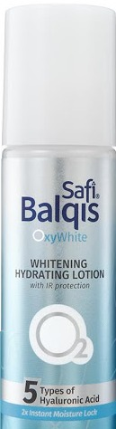 Safi Balqis Oxy White Whitening Hydrating Lotion With Ir Protection