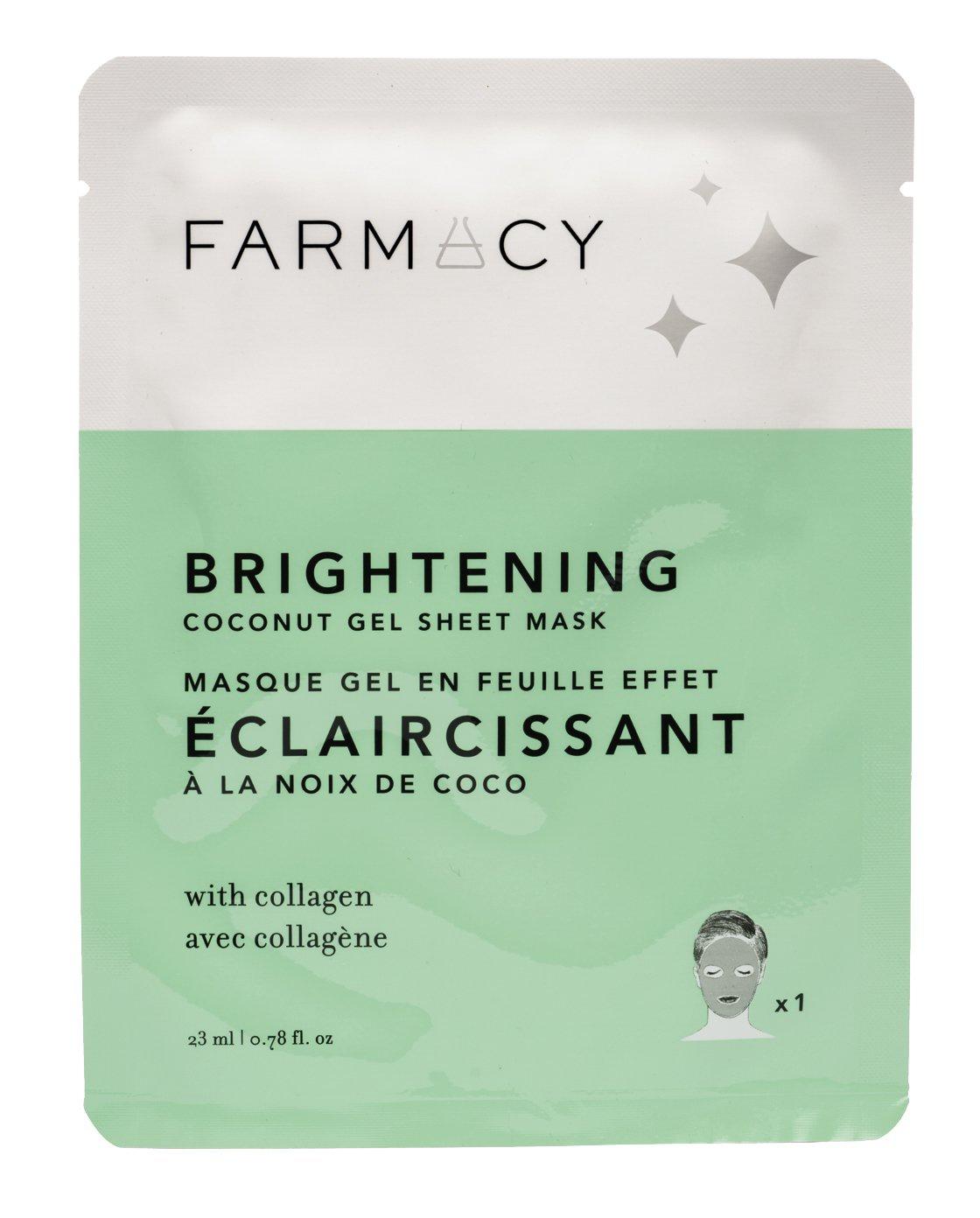 Farmacy Brightening Coconut Gel Sheet Mask