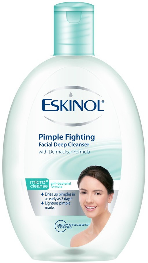 Eskinol Pimple Fighting Facial Deep Cleanser With Dermaclear Formula