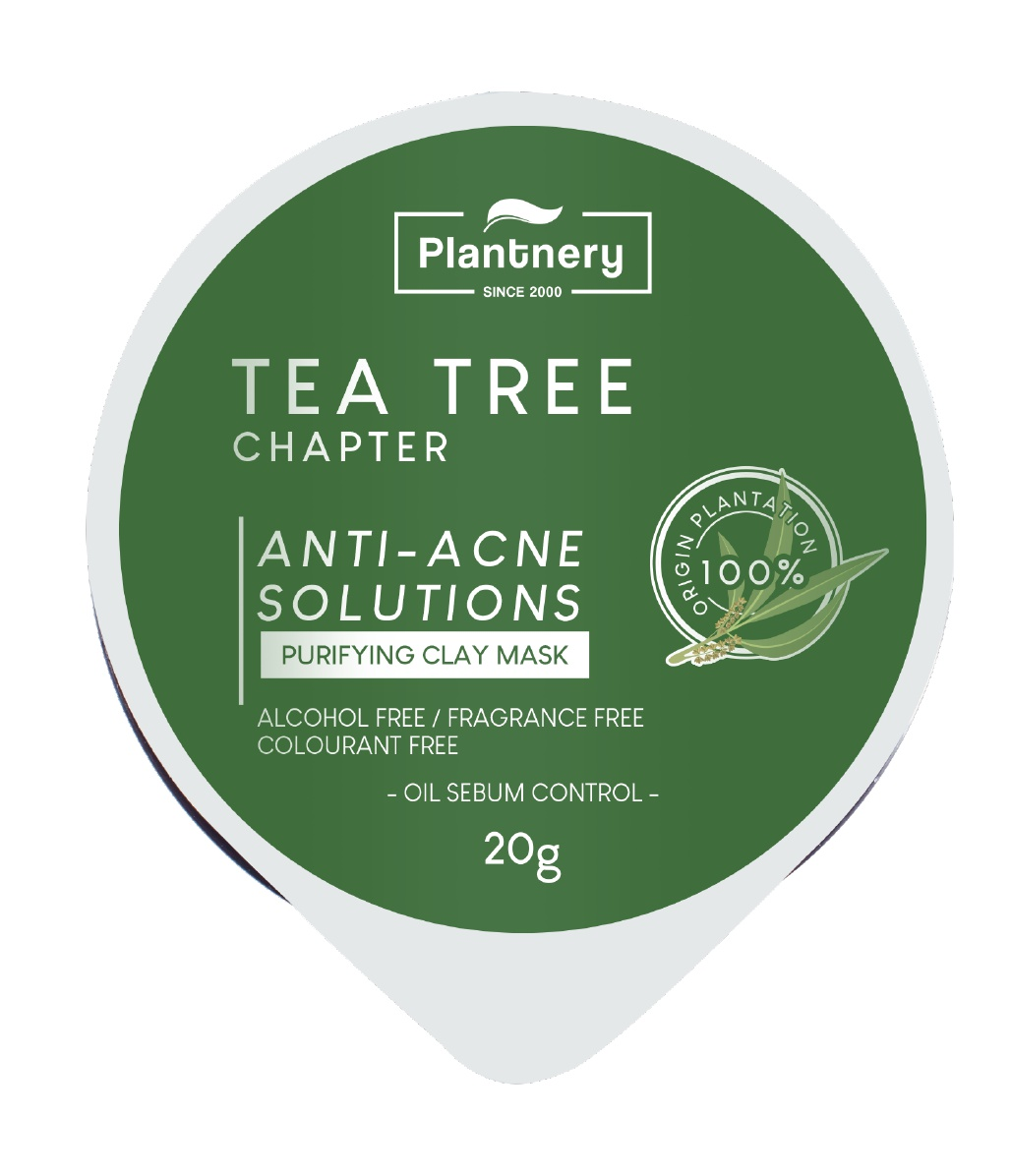 Plantnery Tea Tree Purifying Clay Mask