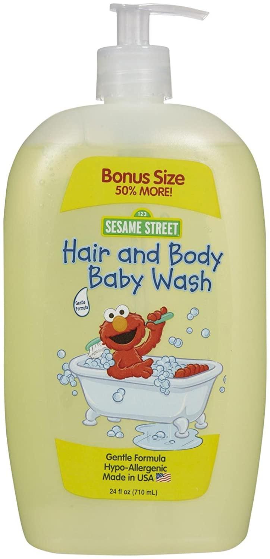 Blue Cross Laboratories Sesame Street Baby Wash