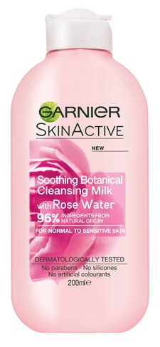 Garnier Natural Rose Water Cleansing Milk Sensitive Skin