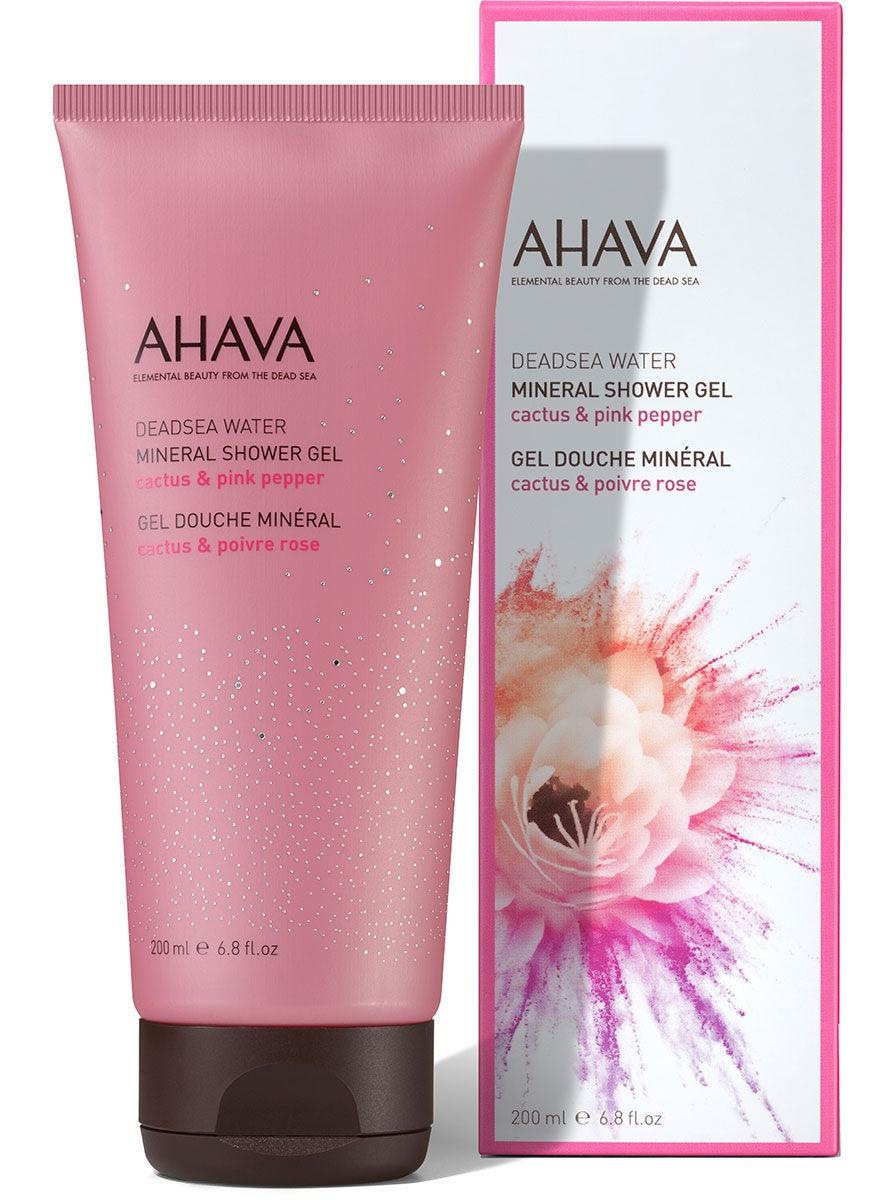 Ahava Mineral Shower Gel Cactus & Pink Pepper